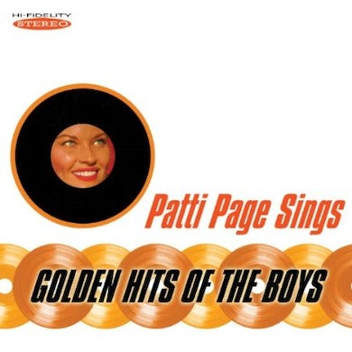 Patti Page SINGS GOLDEN HITS OF THE BOYS CD
