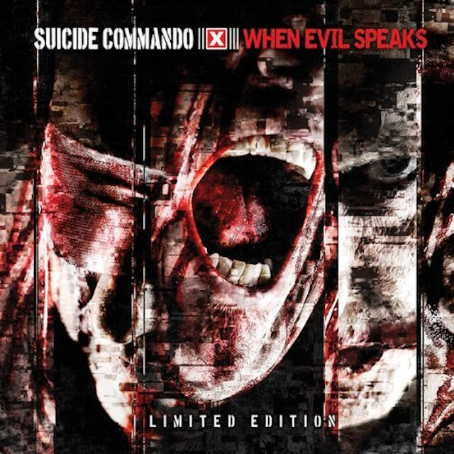 Suicide Commando WHEN EVIL SPEAKS CD