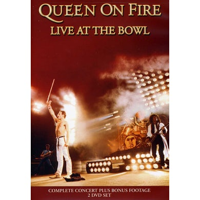 Queen ON FIRE LIVE AT THE BOWL DVD