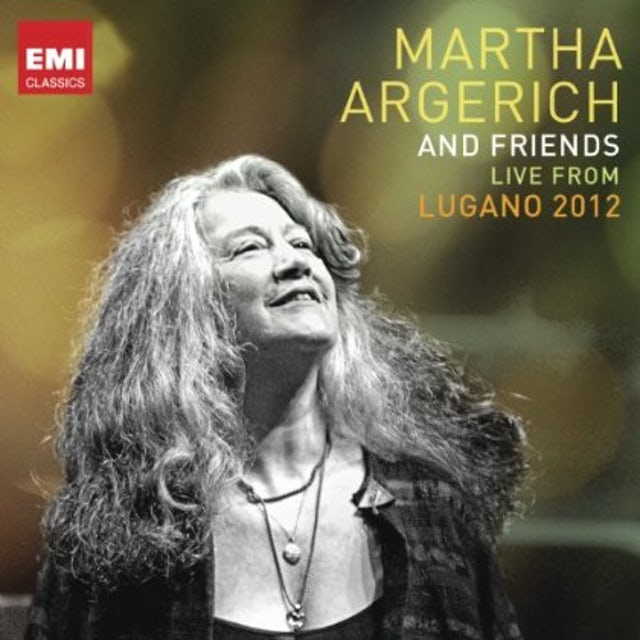 Martha Argerich FRIENDS: LIVE FROM LUGANO FESTIV CD