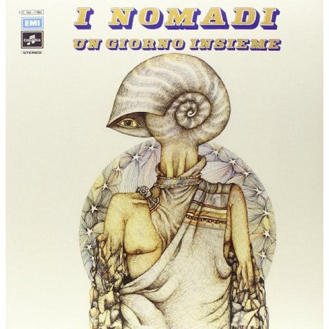 Nomadi UN GIORNO INSIEME Vinyl Record