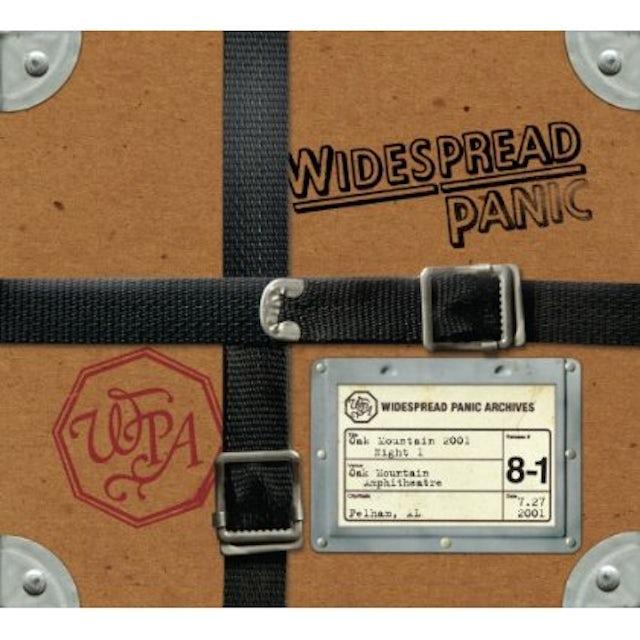 Widespread Panic OAK MOUNTAIN 2001: NIGHT 1 CD