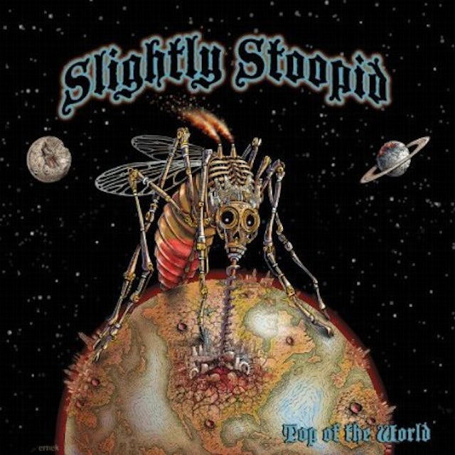 Slightly Stoopid TOP OF THE WORLD Vinyl Record