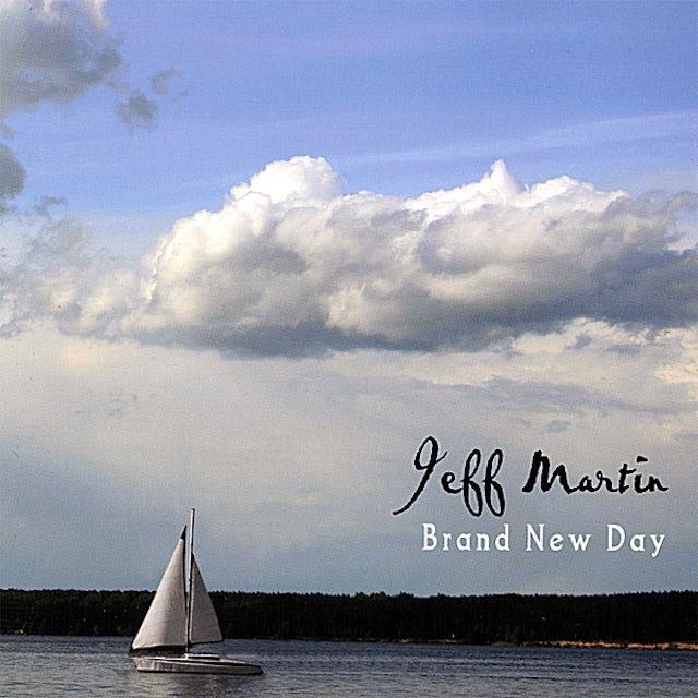 Jeff Martin BRAND NEW DAY CD