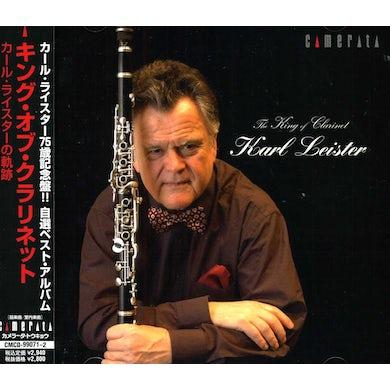 Karl Leister KING OF CLARINET CD