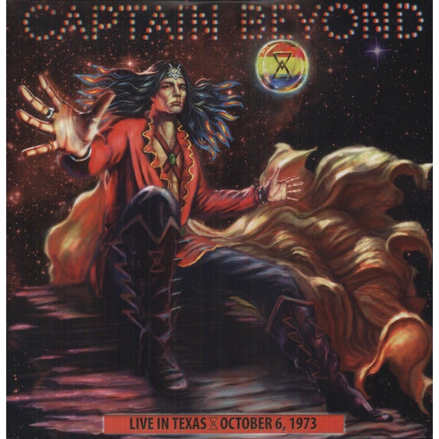 Captain Beyond LIVE IN TEXAS - OCTOBER 6, 1973 Vinyl Record