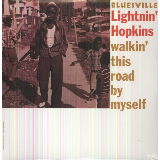 Lightnin Hopkins WALKIN THIS ROAD BY MYSELF Vinyl Record