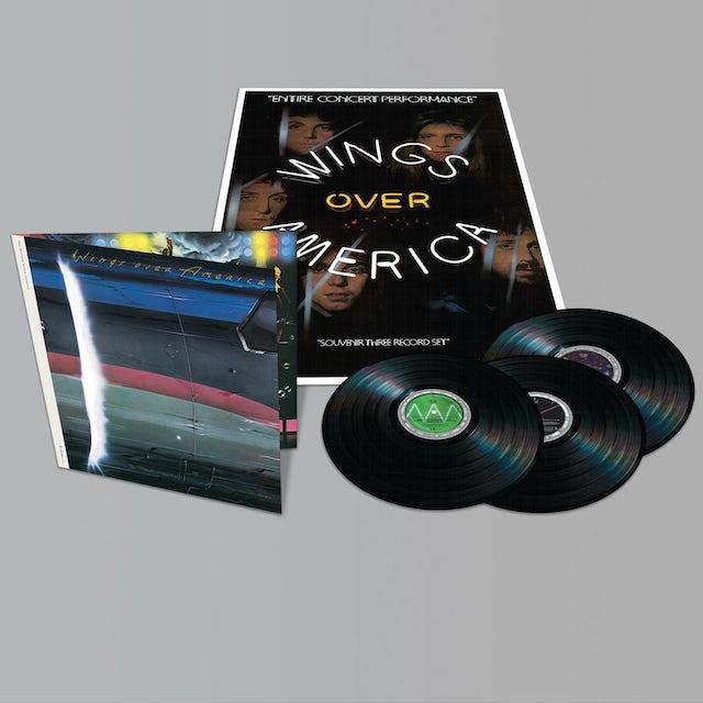 Paul McCartney WINGS OVER AMERICA Vinyl Record