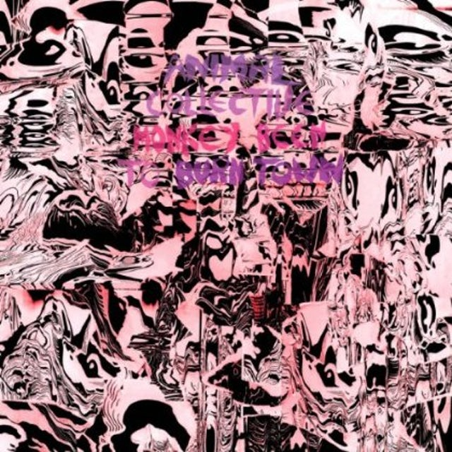 Animal Collective MONKEY BEEN TO BURNTOWN Vinyl Record