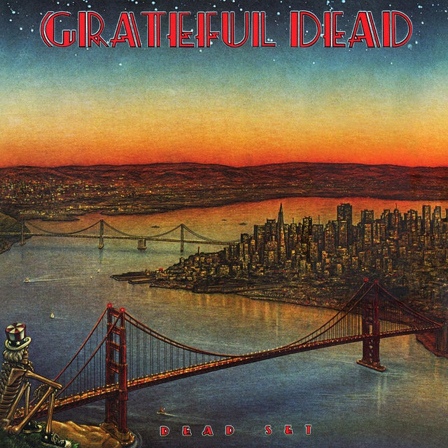 Grateful Dead DEAD SET Vinyl Record