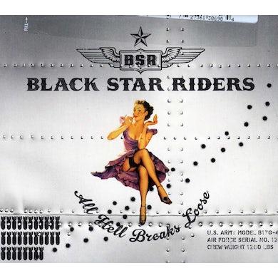 Black Star Riders ALL HELL BREAKS LOOSE CD