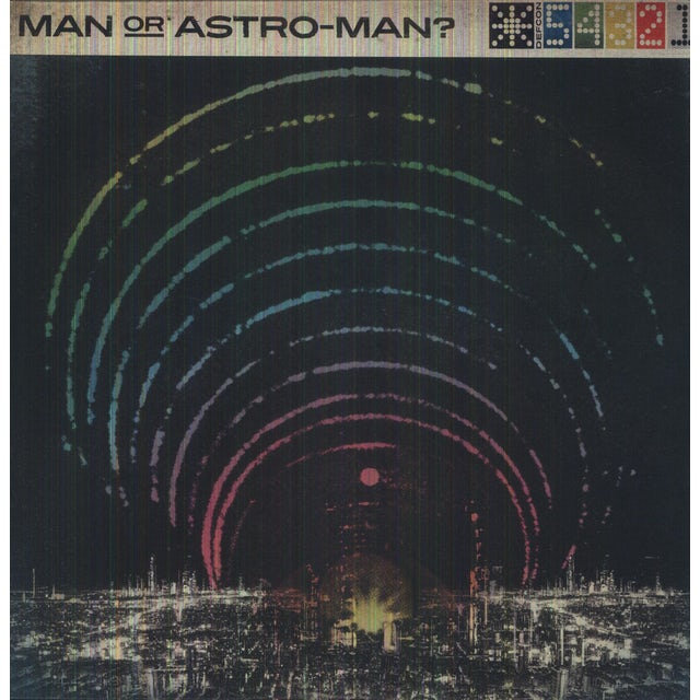 Man Or Astro-Man DEFCON 5 4 3 2 1 Vinyl Record