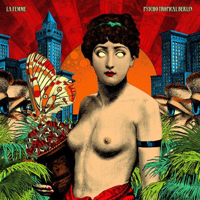 La Femme PSYCHO TROPICAL BERLIN Vinyl Record