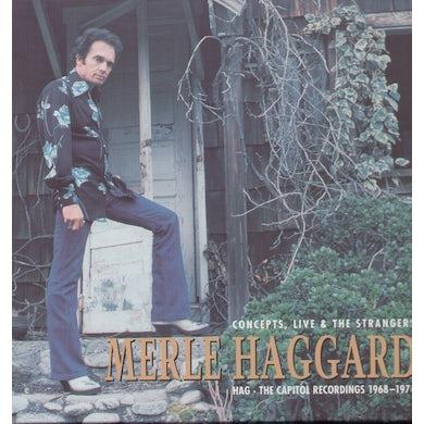 Merle Haggard HAG-CAPITOL RECORDINGS 1968-1976 CONCEPTS LIVE & T CD