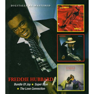 Freddie Hubbard BUNDLE OF JOY / SUPER BLUE / LOVE CONNECTION CD