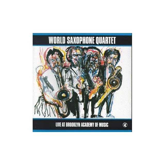 World Saxophone Quartet LIVE AT BAM CD