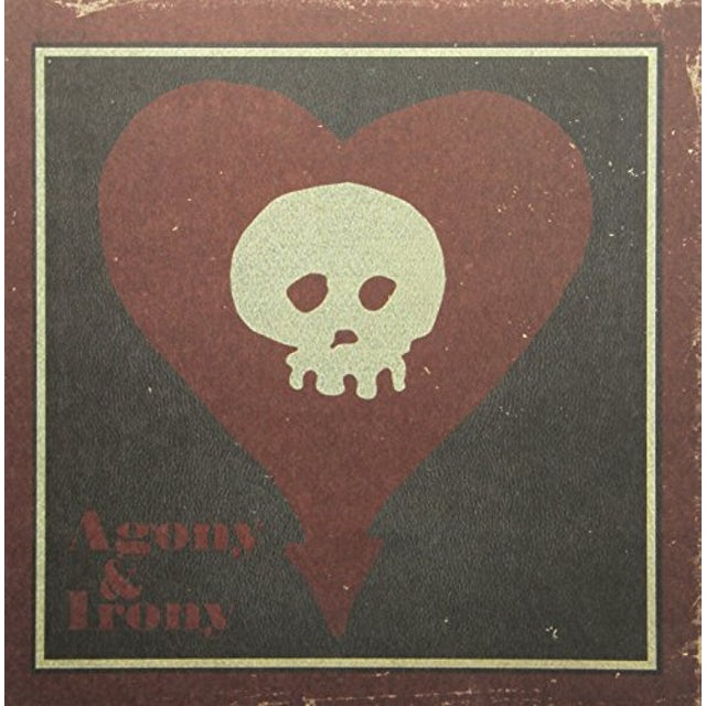 Alkaline Trio AGONY & IRONY  (WB) Vinyl Record - Gatefold Sleeve