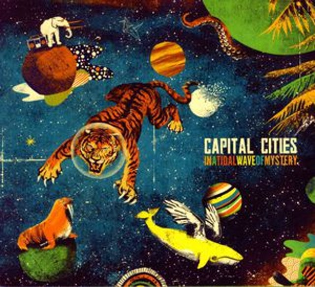 Capital Cities IN A TIDAL WAVE OF MYSTERY Vinyl Record