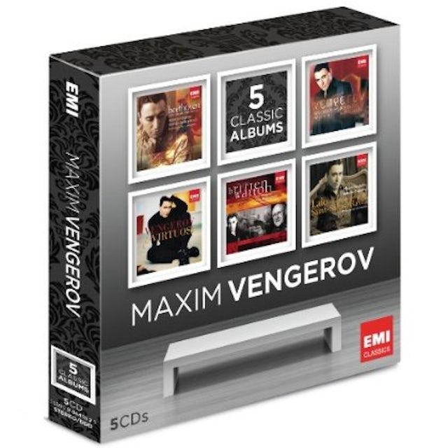 Maxim Vengerov MAXIN VENGEROV: 5 CLASSIC ALBUMS CD