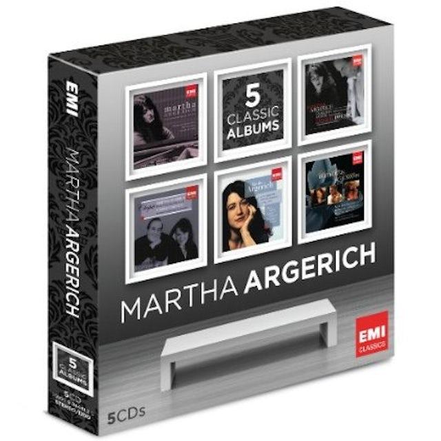 MARTHA ARGERICH: 5 CLASSIC ALBUMS CD