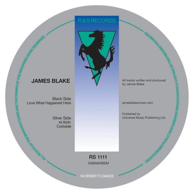 James Blake LOVE WHAT HAPPENED HERE Vinyl Record