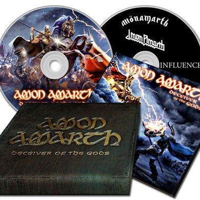 Amon Amarth DECEIVER OF THE GODS (DELUXE) CD