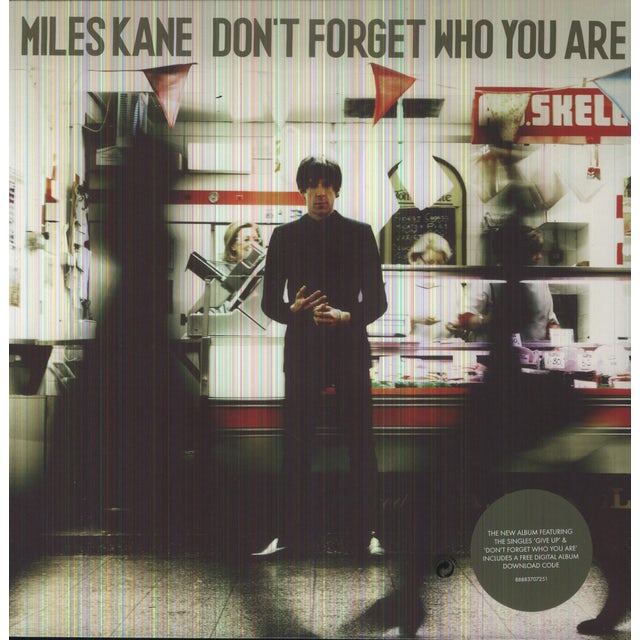 Miles Kane DON'T FORGET WHO YOU ARE Vinyl Record - Holland Release