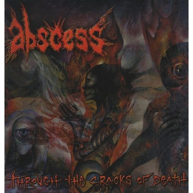 Abscess THROUGH THE CRACKS OF HELL (OGV) (Vinyl)