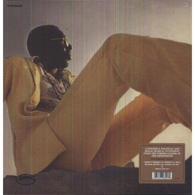Curtis Mayfield CURTIS Vinyl Record