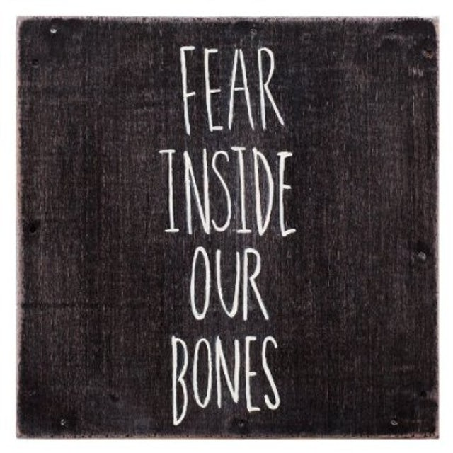 Almost FEAR INSIDE OUR BONES Vinyl Record