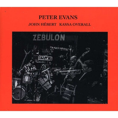 Peter Evans ZEBULON CD