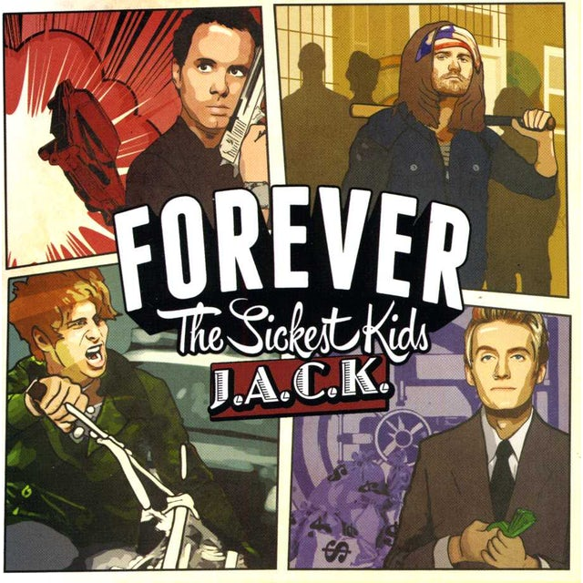 Forever The Sickest Kids JACK CD