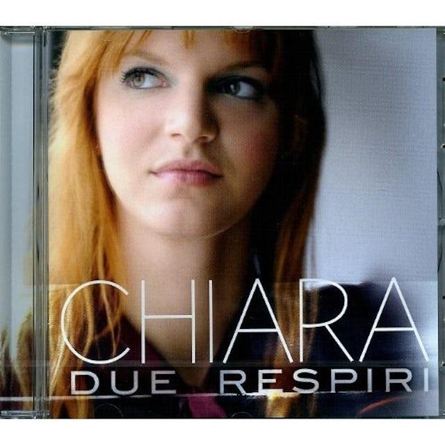 Chiara DUE RESPIRI CD