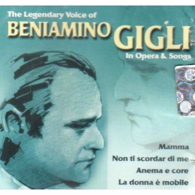 Beniamino Gigli IN OPERA & SONGS CD