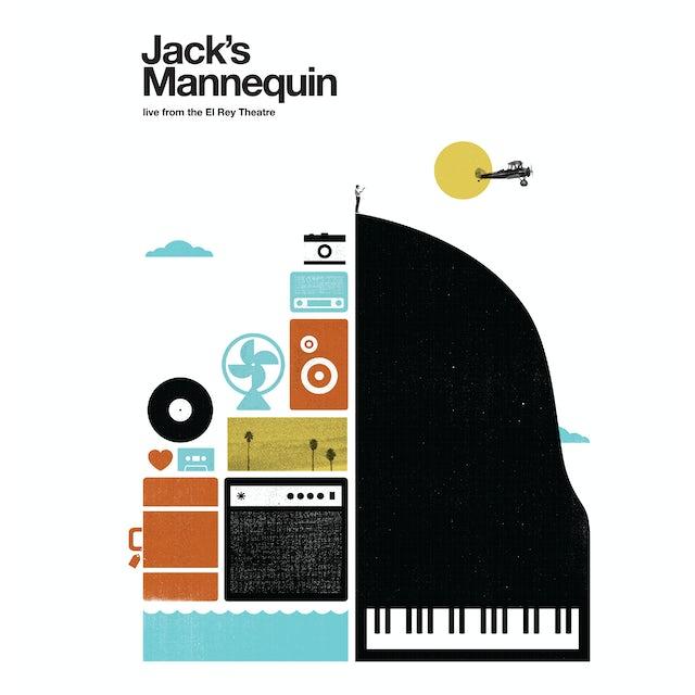 Jack's Mannequin LIVE FROM THE EL REY THEATRE CD