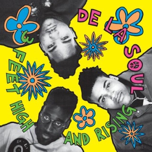De La Soul 3 FEET HIGH & RISING Vinyl Record