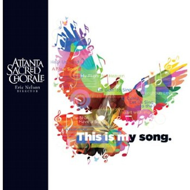Atlanta Sacred Chorale THIS IS MY SONG CD