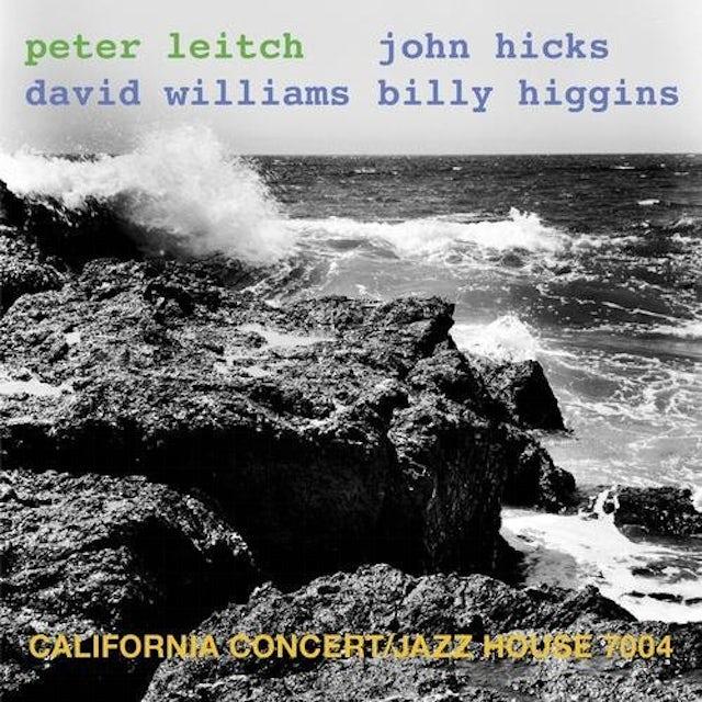 Peter Leitch CALIFORNIA CONCERT CD