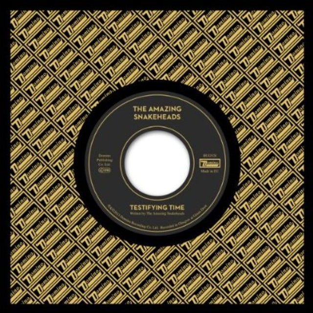 The Amazing Snakeheads TESTIFYING TIME / THE TRUTH SERUM Vinyl Record