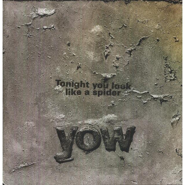 David Yow TONIGHT YOU LOOK LIKE A SPIDER Vinyl Record