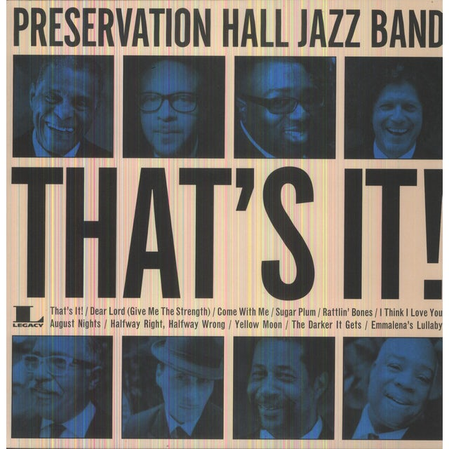 Preservation Hall Jazz Band THAT'S IT Vinyl Record