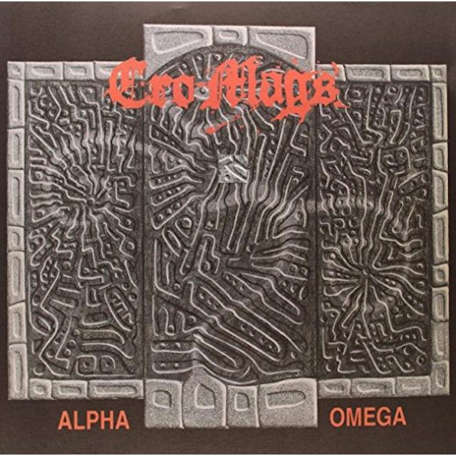 Cro-Mags ALPHA & OMEGA Vinyl Record