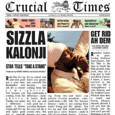 Sizzla CRUCIAL TIMES Vinyl Record