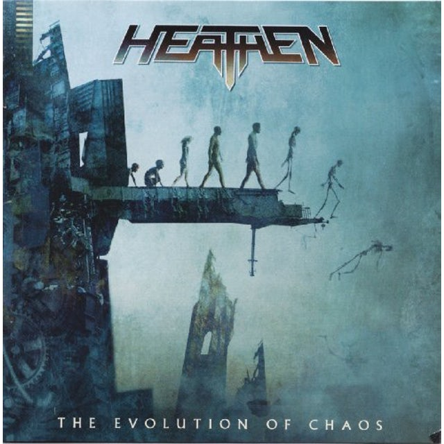 Heathen EVOLUTION OF CHAOS Vinyl Record