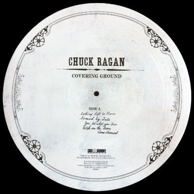 Chuck Ragan COVERING GROUND (PICTURE DISC) Vinyl Record