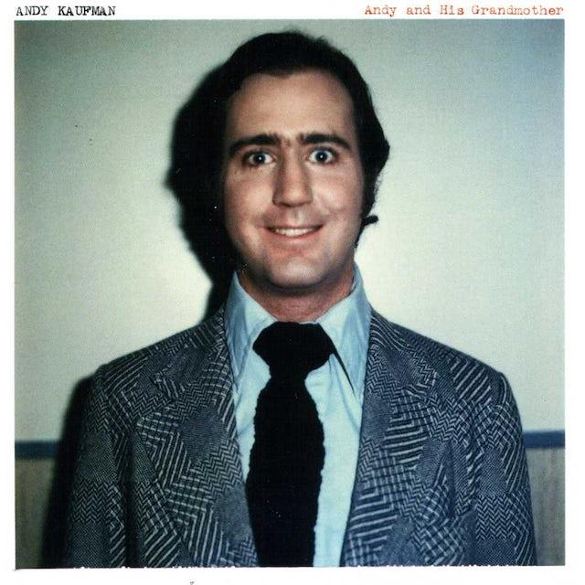 Andy Kaufman ANDY & HIS GRANDMOTHER CD