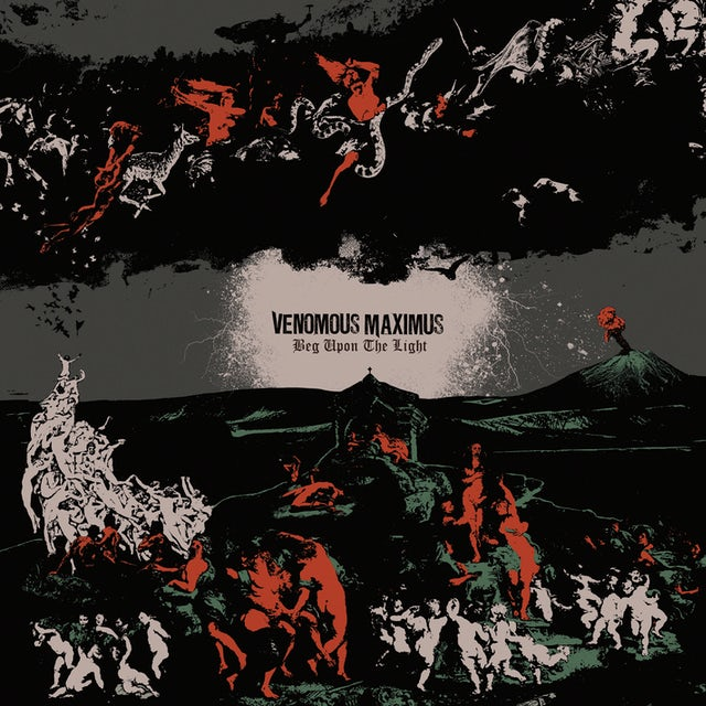 Venomous Maximus BEG UPON THE LIGHT CD