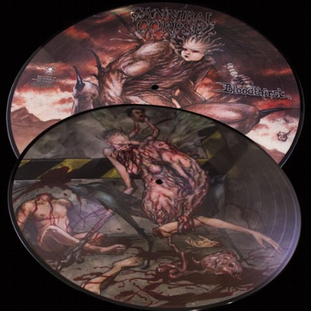 Cannibal Corpse BLOODTHIRST: 25TH ANNIVERSARY Vinyl Record