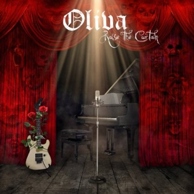 Oliva RAISE THE CURTAIN CD