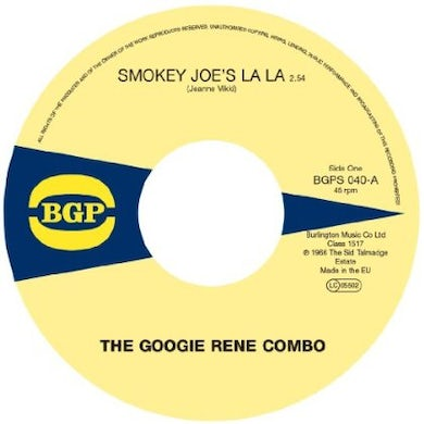 Jack Googie Rene Combo / Mcduff SMOKEY JOE'S LA LA / HOT BARBEQUE Vinyl Record